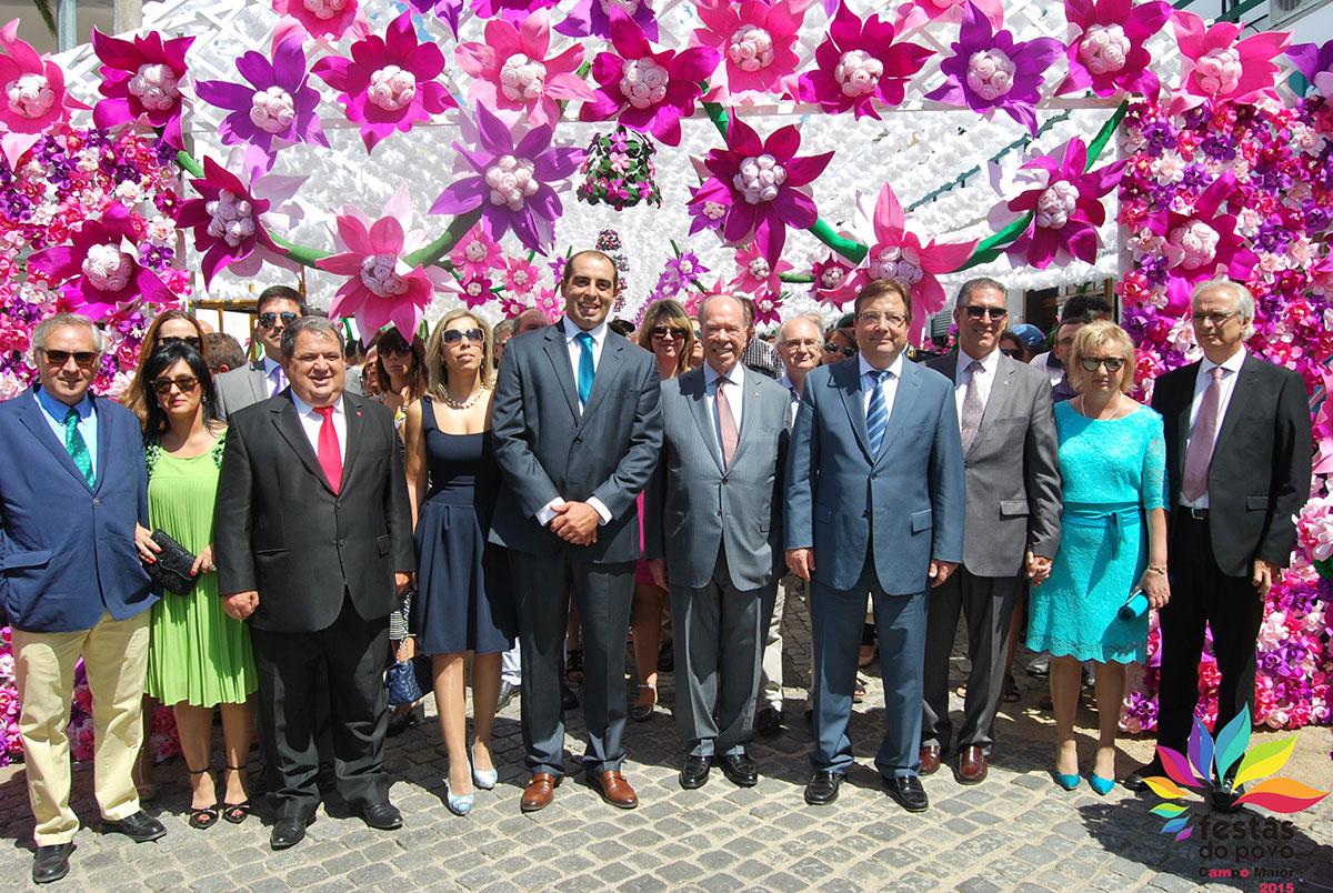 Cooperação ibérica em destaque no arranque  das Festas do Povo de Campo Maior 2015