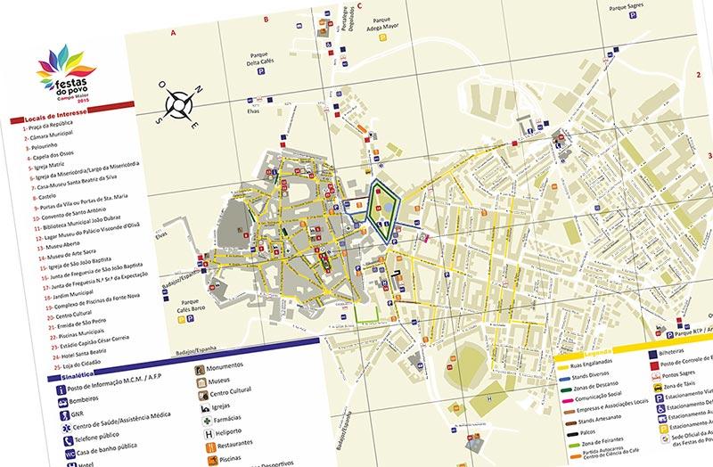 Mapa Festas do Povo 2015