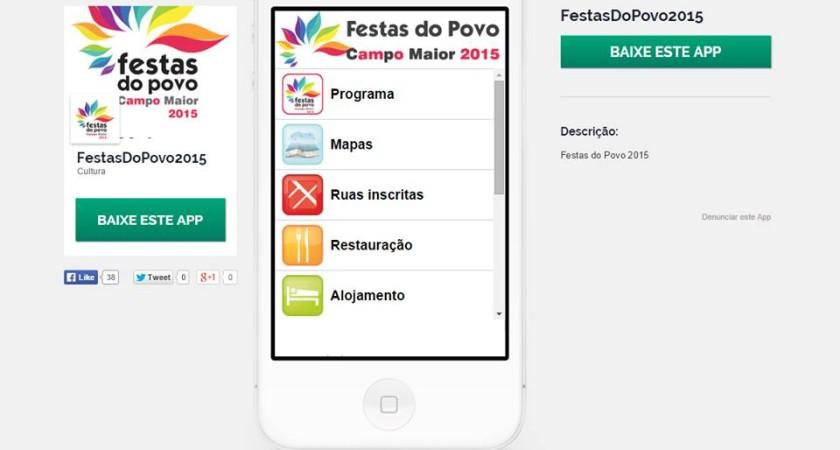 Já pode instalar a APP Oficial das Festas do Povo no seu smartphone!
