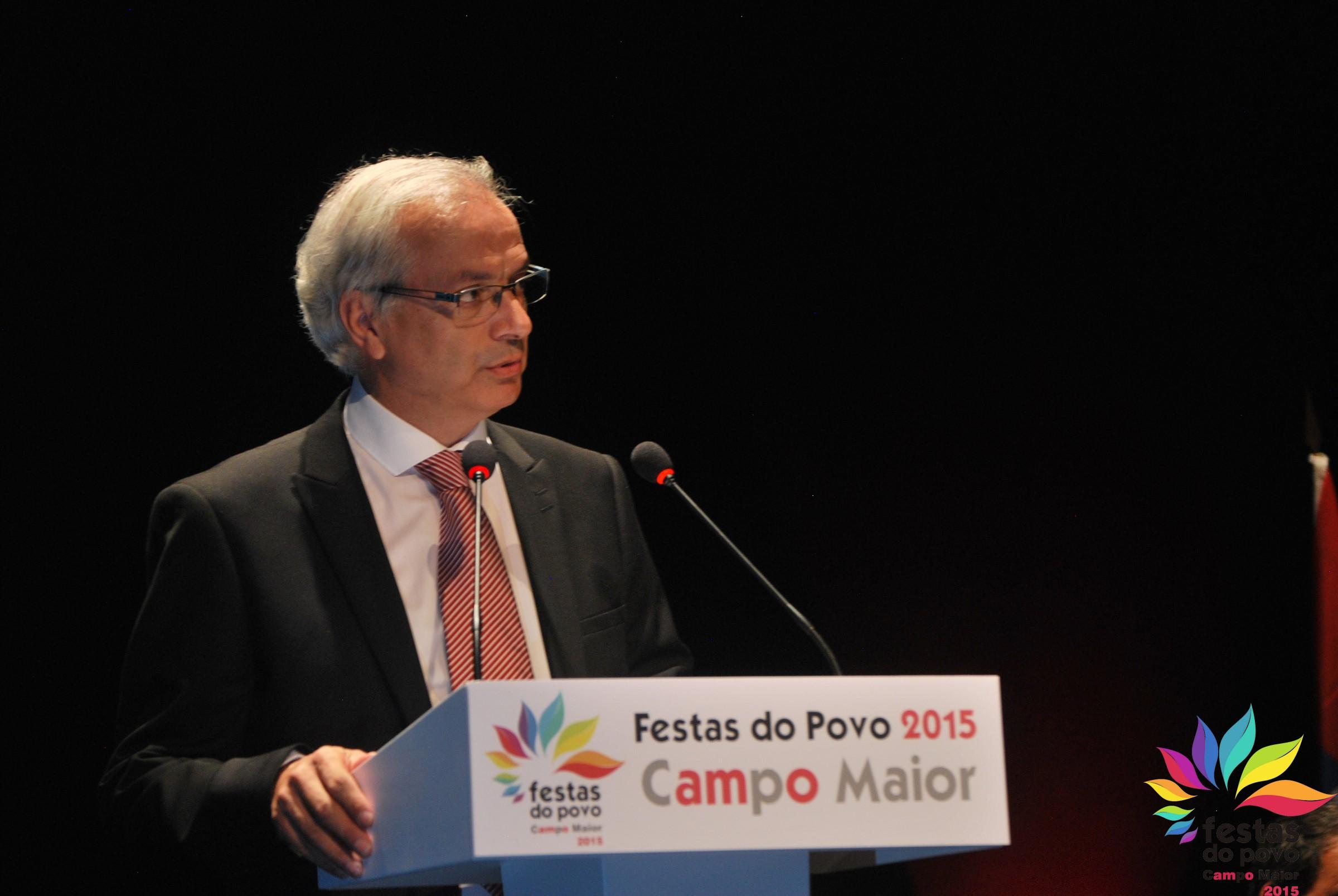 João rosinha, Presidente da Associação das Festas do Povo de Campo Maior