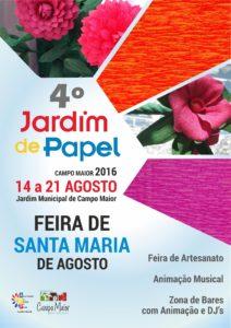 Cartaz-Jardim-de-Papel-Feira-St-Maria-Agosto
