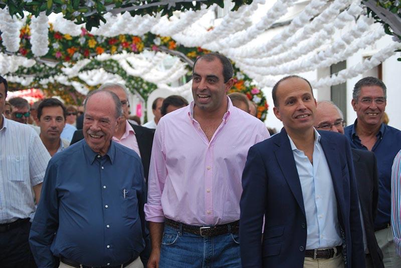 Ministro da Solidariedade, Emprego e  Segurança Social visita Festas do Povo de Campo Maior